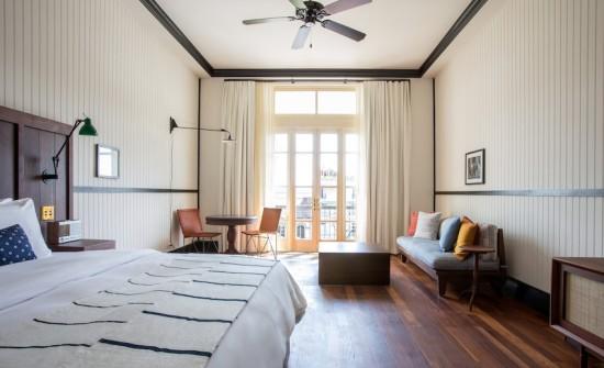 American Trade Hotel room