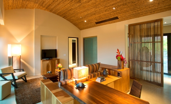 Andaz Papagayo Resort suite living room