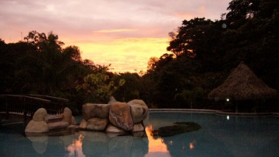 Hotel Borinquen Sunset by the Pool