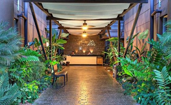 Los Altos Beach Resort reception