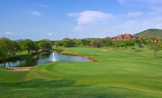 Costa Rica golf courses Playa Conchal