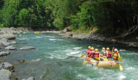 best places to whitewater raft in the world