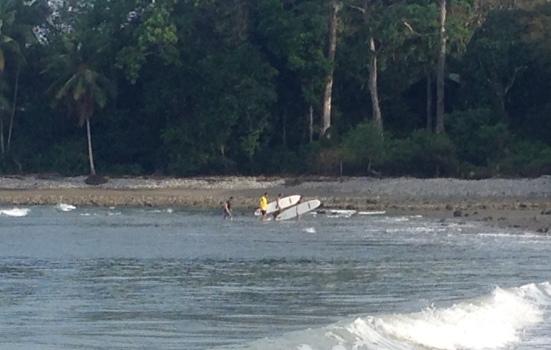 Lapa Rios surf lessons