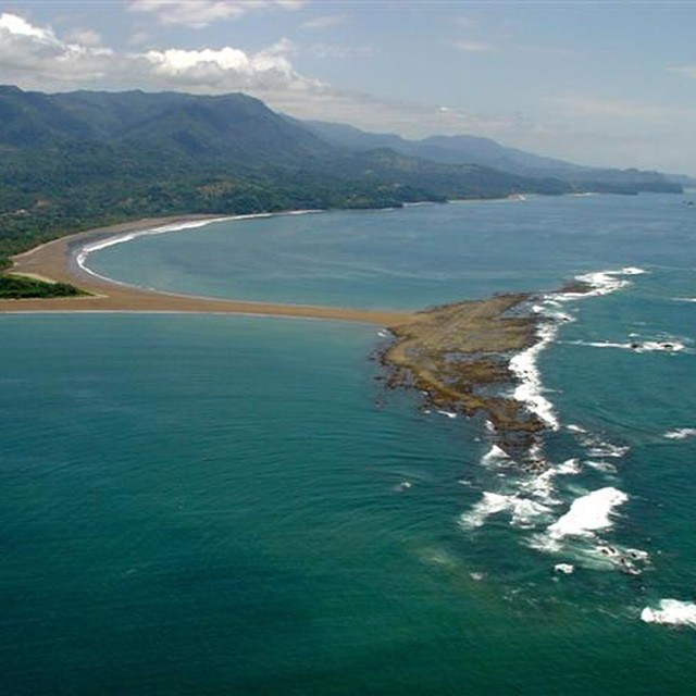 Ballena Marine National Park- named for the humpback #whales that gather here #costarica #vacations