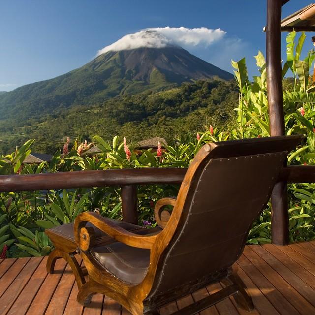 Arenal #volcano in all its splendor! #costarica #adventure #vacations