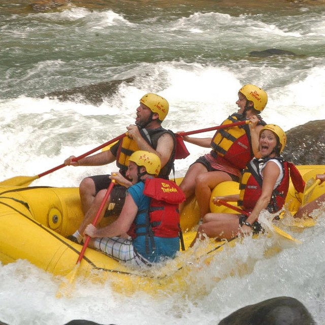 #tgif Is it the weekend yet? The best #travel is #fun travel! ?#adventure #vacations #rafting