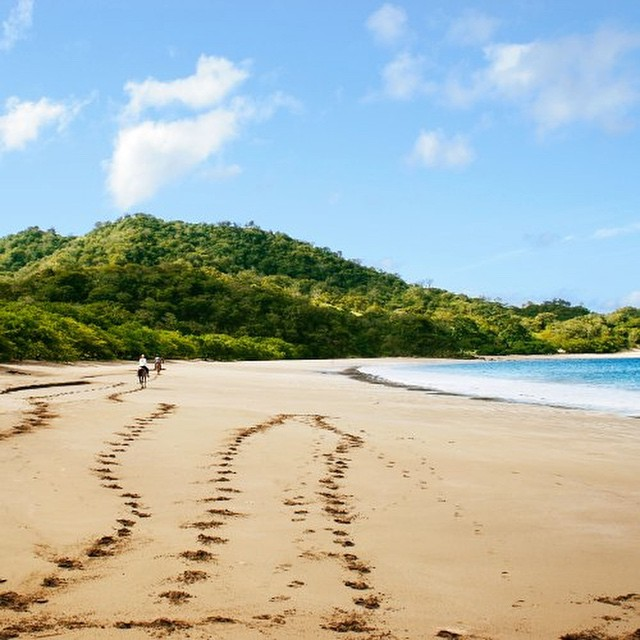 Hope your weekend is as relaxing as the beach is at Recreo: Playa Rajada ⛵️#costarica #vacations