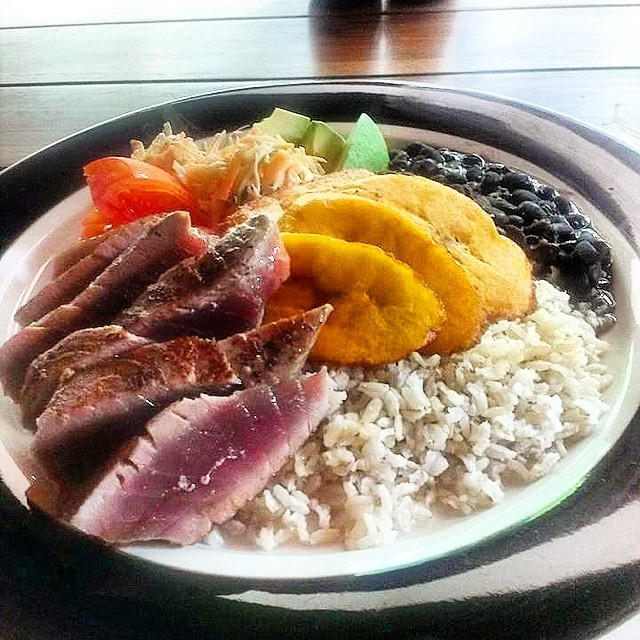 Tuna #casado- Learn more about Casado on our new blog post: 7 Costa Rican Food Staples You Must Try. What's your favorite Costa Rican #food?