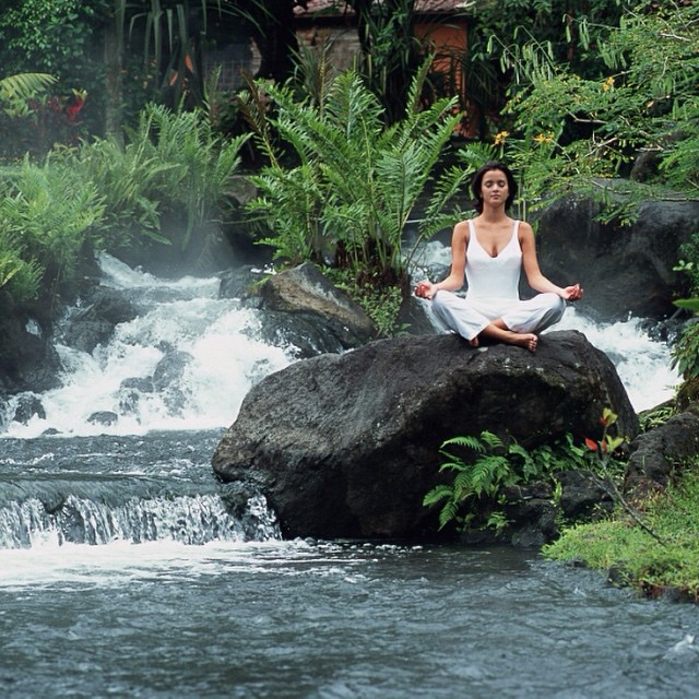 Oh, sweet perfection at Tabacon Hot Springs #wellness #vacations