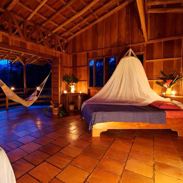 Dreaming of the #weekend? How's this for a #daydream- a night in #heaven @SelvaBananito #Ecolodge. #CostaRica #Friyay #Cahuita ?