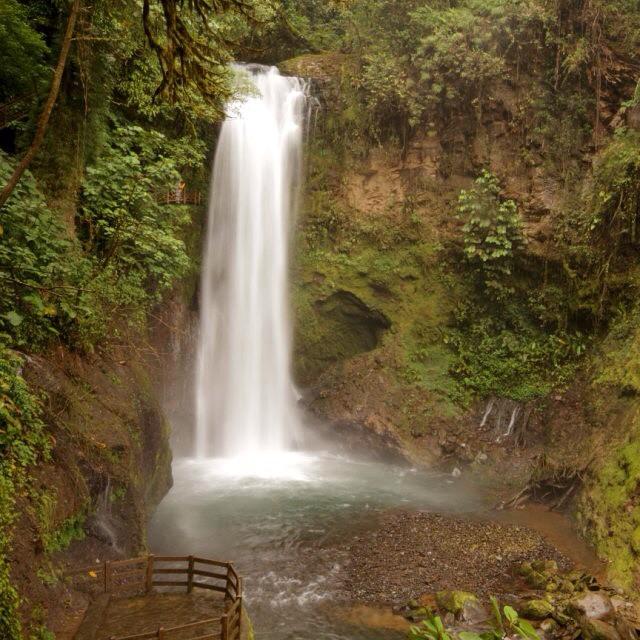 Chasing #waterfalls at the beautiful La Paz #Waterfall Gardens! ☺️#costarica #nature @waterfallgarden