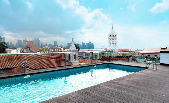 Central Hotel Panama pool