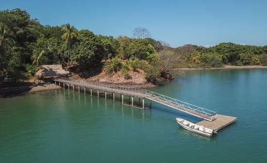 Isla Palenque - Aerial - Dock 5