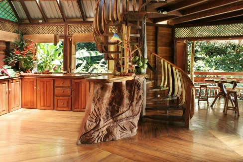 Costa Rica Tree House Living Room