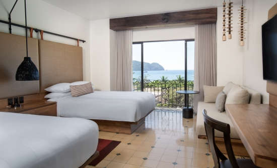 Los Suenos Marriott Ocean View Room With Double Beds