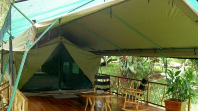 Stay at Rafiki Safari Tent Camp, Costa Rica