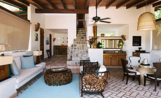 Florblanca Two Story Villa Interior