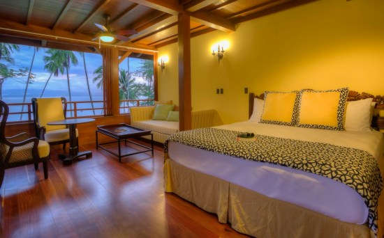 Playa Cativo Lodge rooms