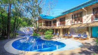 Olas Verde Hotel Swimming Pool Nosara