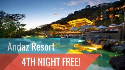 Costa Rica Romantic Escape Vacation Package