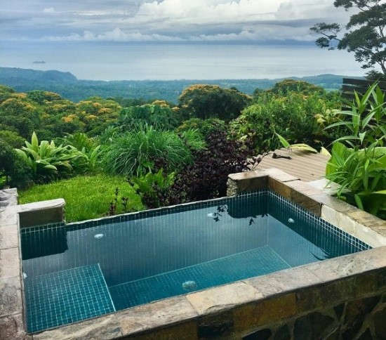Private Plunge Pool at Rancho Pacifico