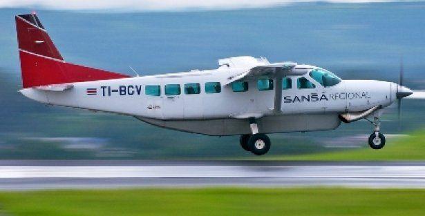Sansa Airlines Domestic Costa Rica
