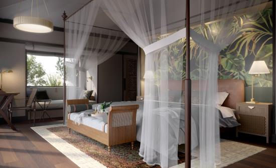 Nayara Tented Camp bedroom