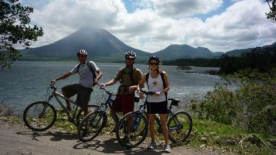 Mountain Bike Arenal Lake to El Castillo Village