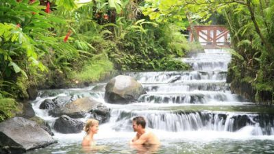 Tabacon Hot Springs Tour
