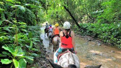 Horseback Riding at Tocori Mountain and Waterfall