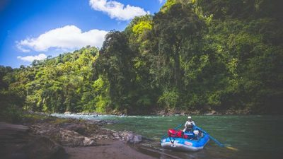 Pacuare River Whitewater Rafting from South Caribbean