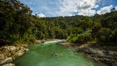 Pacuare Whitewater Rafting Day Tour Class III-IV