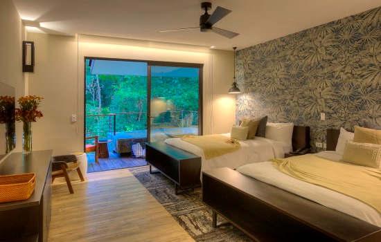 El Silencio Riverside Villa second bedroom